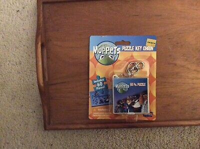New Muppets 60 Piece Puzzle Key Chain