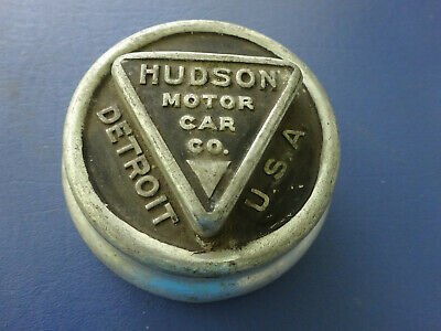 Vintage Hudson Motor Car Co. Wheel Cap, Detroit, Michigan
