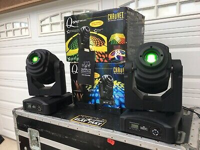 Chauvet Q Spot 260 LED Club Stage DJ DMX Gobo Moving Head Effect Light Fixture
