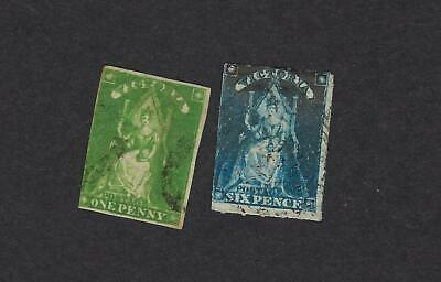 Victoria Scott Numbers 29 and 30 Used Stamps