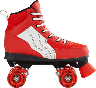 Rio Roller Skates Pure Red UK Sizes 2-6 (H)