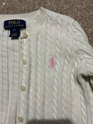ralph lauren girls cardigan