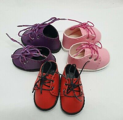 2 pairs PU shoes for Paola Reina corolle Wellie Wisher 14in dolls