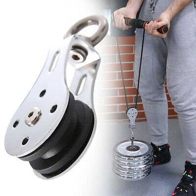 Bearing Lifting Pulley Training Accessories Traction Wheel Stainless Steel Tools