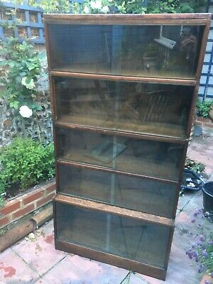 Vintage Barristers Sectional Bookcase by Gunn