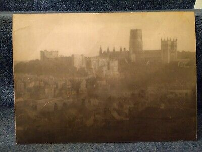 Rare Antique early Photograph Of Durham A R S P Signed unpublished ?