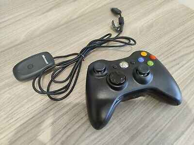 Official Microsoft Xbox One Controller with Wireless Adapter for Windows PC