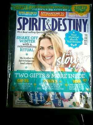 Spirit & Destiny Magazine March 2020 With Free Gifts (new)