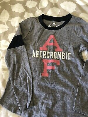 Brand New Girls Holographic Long Sleeved Top - Abercrombie and Fitch * age 5 - 6