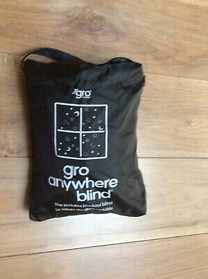 The Gro Company Anywhere Portable Blackout Blind With Suction Cups