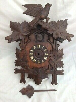 Antique Cuckoo Clock Case