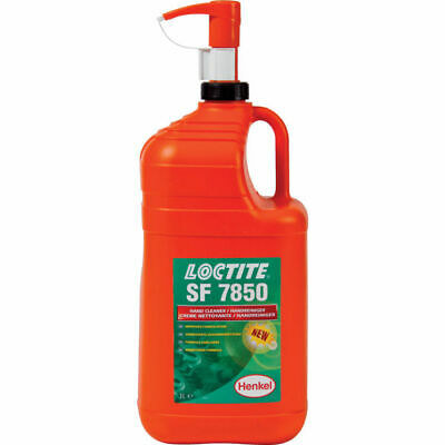 Loctite Sf7850 Orange Hand Cleaner 3L- Removes Oil/Grease. Perfect For Garage
