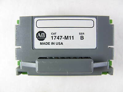 Allen Bradley, SLC 500, 1747-M11, SER B, 32K EEPROM Memory, Good Condition
