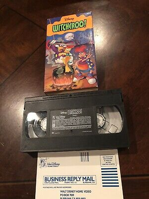 Witcheroo (VHS, 1996) TESTED