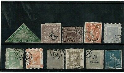 L047 British CW QV FORGERIES on card 2 of 7 (11)