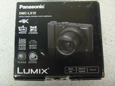 Panasonic Lumix 4K DMC-LX10 (Black)