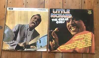 2x LITTLE RICHARD SINGS SUMMIT MONO LP & The Great Ones Best of Greatest Hits EX