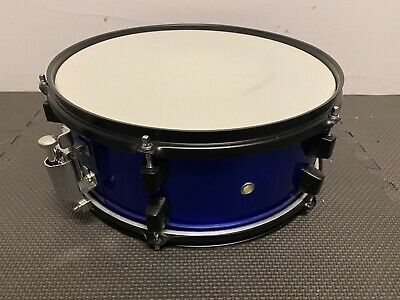 """Blue Snare Drum 14"""" x 5.5"""" 6 Lug Snare Drum / Hardware / Accessory #SN222"""