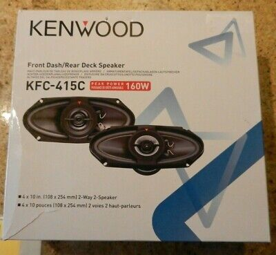 Kenwood Front Dash / Rear Deck Speaker (KFC-415C)