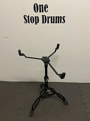 Snare Drum Stand Double Braced Black Hardware Accessory #SS223