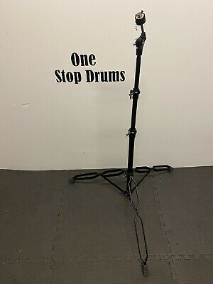 Straight Drum Cymbal Stand Double Braced / Black Hardware / Accessory #ST222