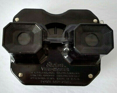 Sawyers View-Master Black Vintage Stereoscope Bakelite Viewer Gift