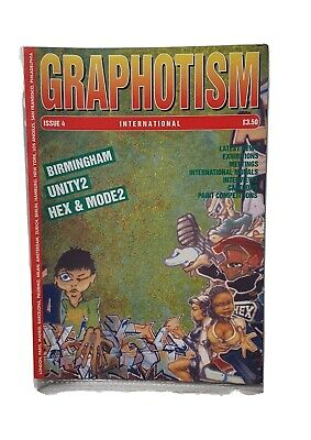 Graphotism Issue 4 Mint Condition