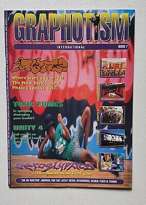 Graphotism Issue 7 mint Condition Phase 2 Edition
