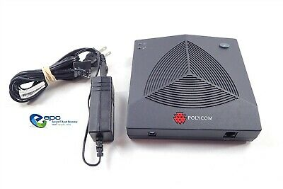 Polycom SoundStation 2W 2.4GHz WDCT Wireless Receiver & AC 2201-67810-001