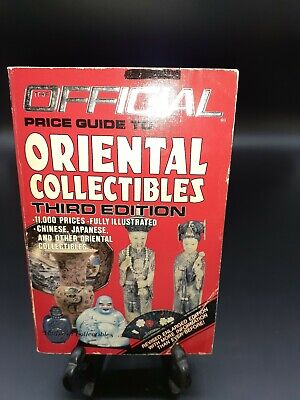 The Official Price Guide to Oriental Collectibles Third Ed Fully Illustrated VTG