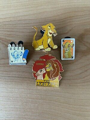 Disney Pin Lot - The Lion King Simba (4)