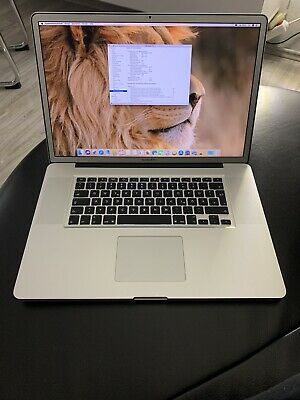 apple macbook pro 17 zoll