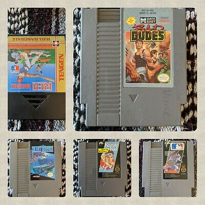 Assorted NES Nintendo games - Used - You pick (ALL CLEANED and TESTED!)