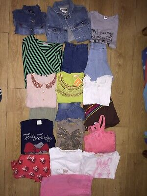 Girls Summer Clothes Shoes Bundle 6-8 Years Bluezoo Next George Route66 Old Navy