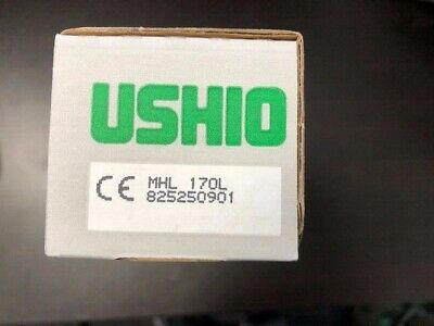 USHIO METAL HALIDE LAMP MHL-170L from old stock