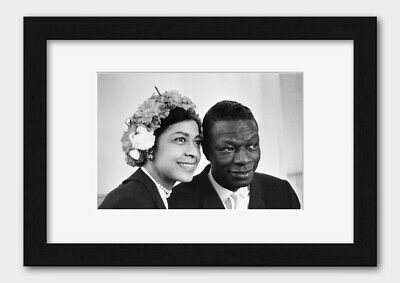 Nat King Cole - With his Wife Maria Cole 12th May 1960 Print 2