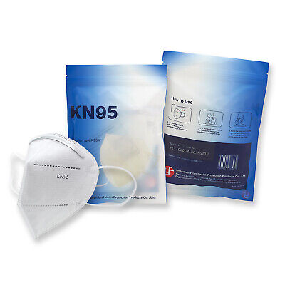 ASATECHMED KN95 Protective Face Mask CE/ECM Certified | GB2626 Standard | 5-Pack
