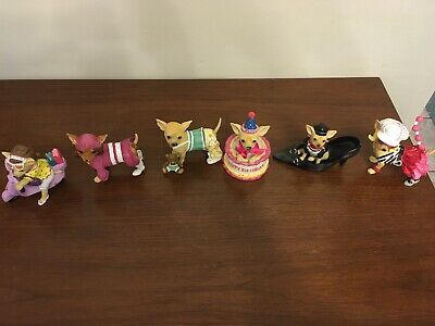 aye chihuahua figurine Set Of 6