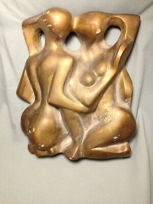 Abstract Clay Sculpture