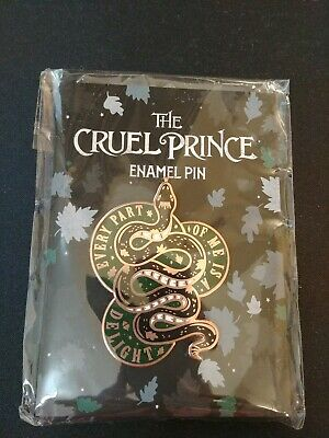 The Cruel Prince Enamel Pin Illumicrate (Folk of the Air Series by Holly Black)