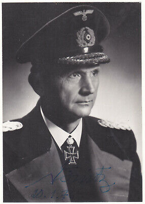 Admiral Karl Doenitz - signed genuine photograph and handwritten personal letter