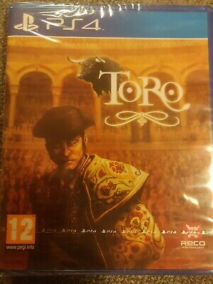 TORO PAL ENGLISH RARE PS4 Playstation 4 Game. ONLY ONE AVAILABLE ON EBAY!