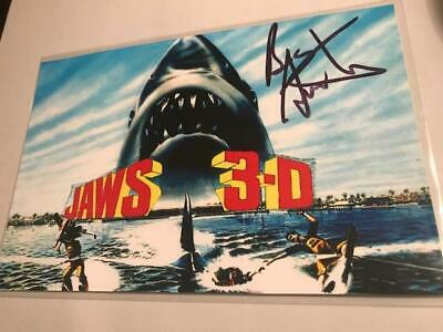 """1983 Jaws 3D Bess Armstrong Signed 4X6 Photo,""""Dr.kay Morgan"""" Autographed, Nice"""