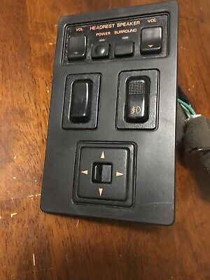 90-91 RX-7 Convertible Center Console Switches Speaker Fog Light Mirror