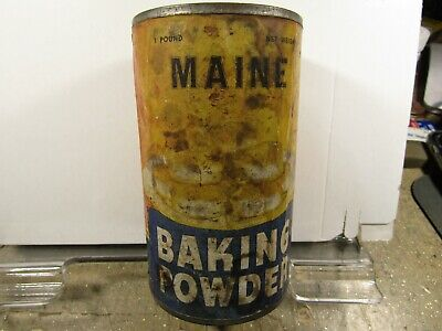 Maine Baking Powder 1 Pound Can Maine Tea Co Portland Maine