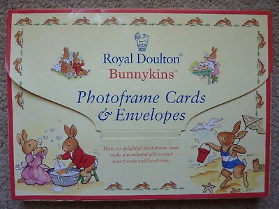 Bunnykins by Royal Doulton Photoframe Cards and Envelopes