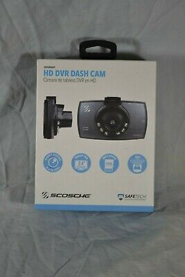 HD DVR Dash Cam New in Box Automotive Night Vision Scosche  DDVR2ST
