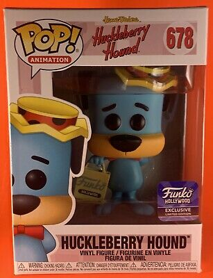 Huckleberry Hound :678 Funko Pop! Animation Hollywood Exclusive Limited Edition