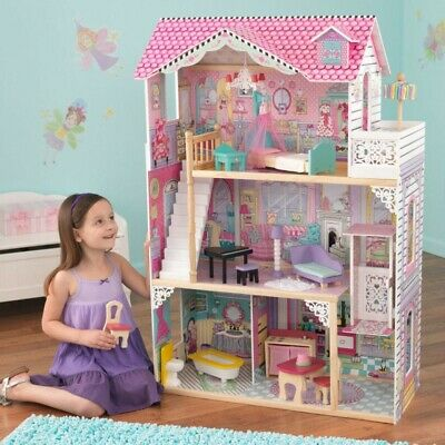 Kidkraft 65079 Kids Girls Annabelle Dollhouse Big Large Fashion Play Doll House