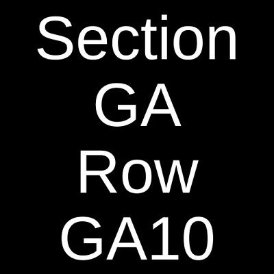4 Tickets City and Colour 10/13/20 Ithaca State Theatre Ithaca, NY